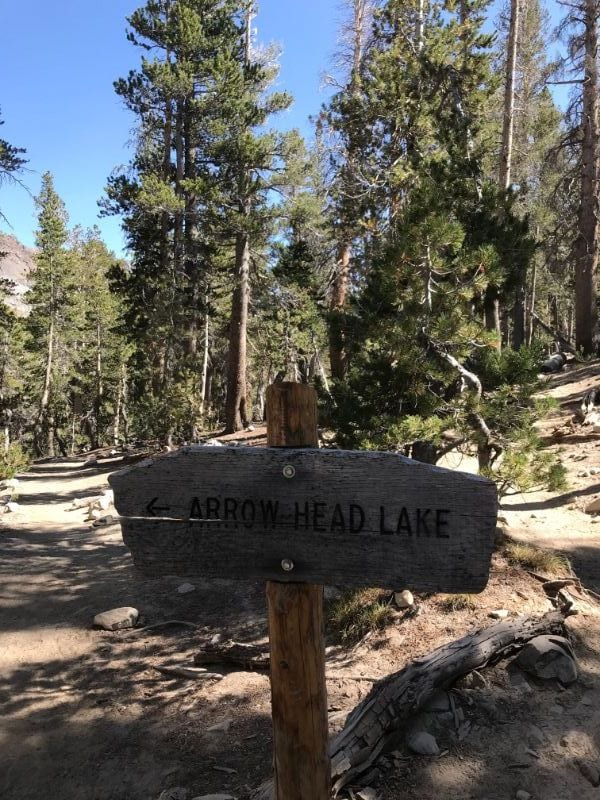 arrowhead lake sign