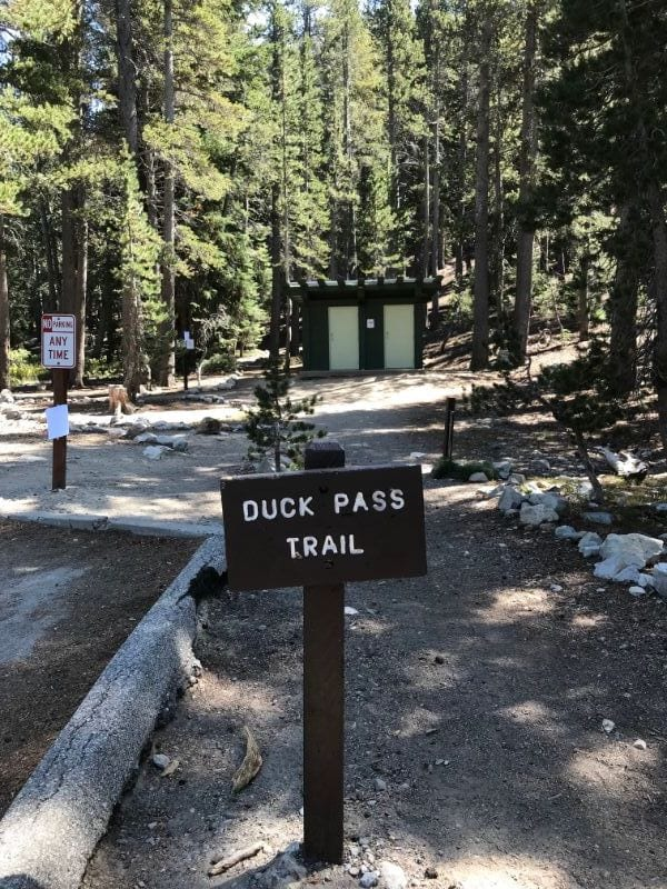 duck pass trailhead