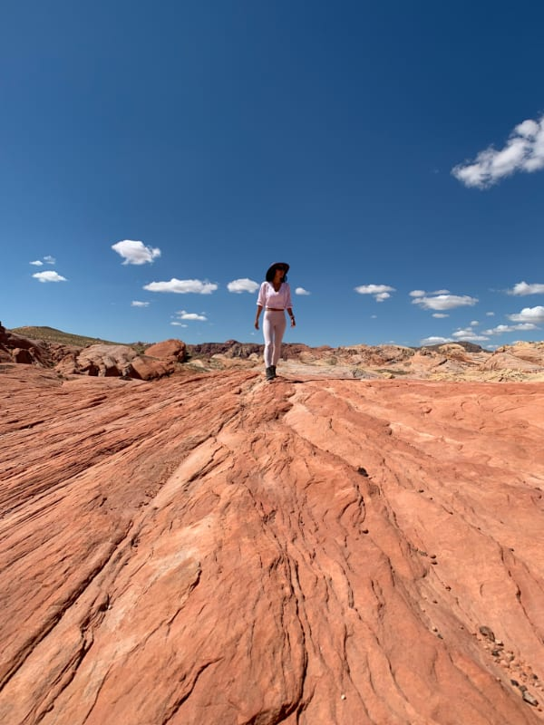 fire wave trail, valley of fire