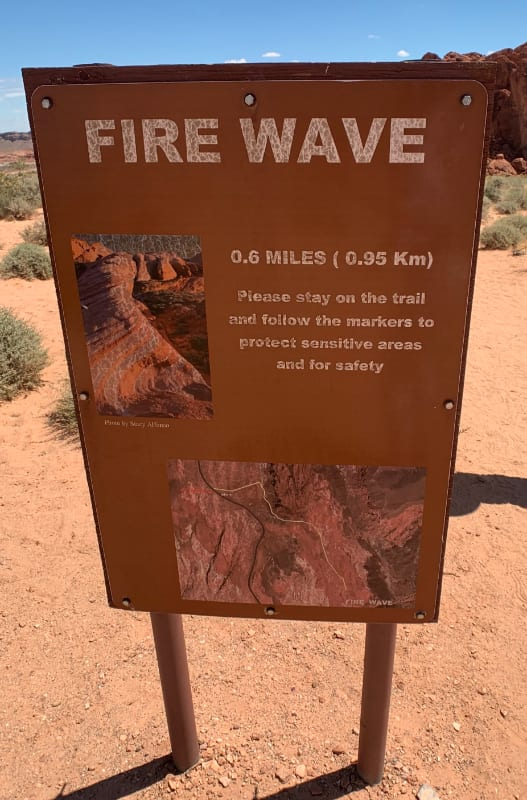 fire wave trailhead