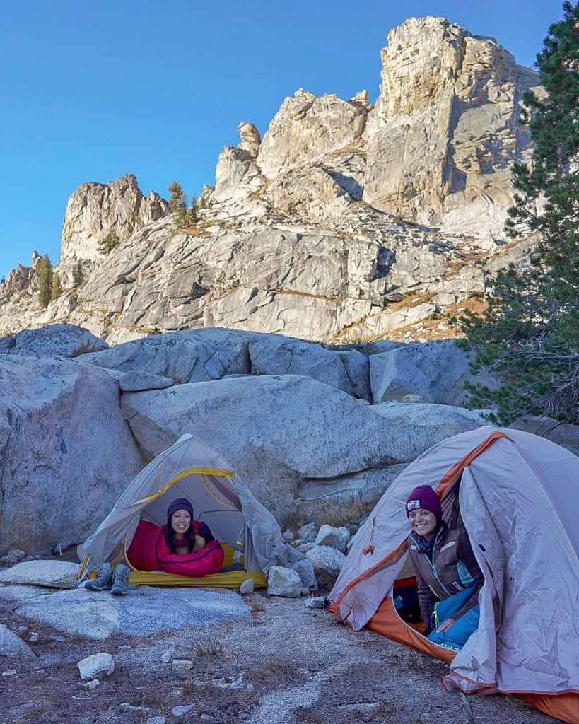 overnight camping at pear lake