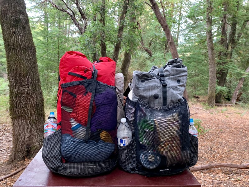 matching ks50 ultralight packs