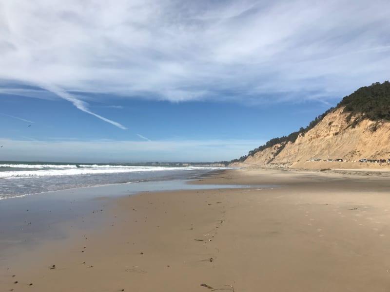 Waddell beach, santa cruz