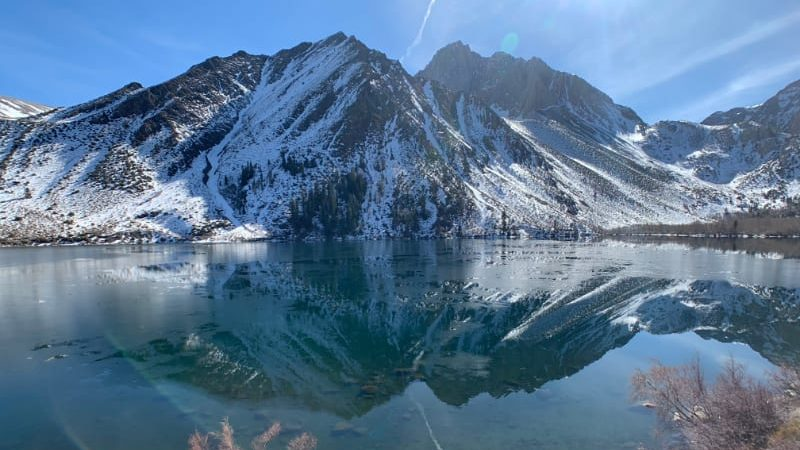 convict lake winter 2020
