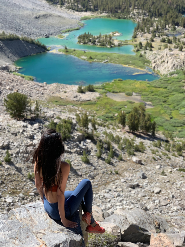 barney lake in mammoth lakes