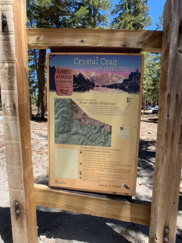 crystal lake trailhead