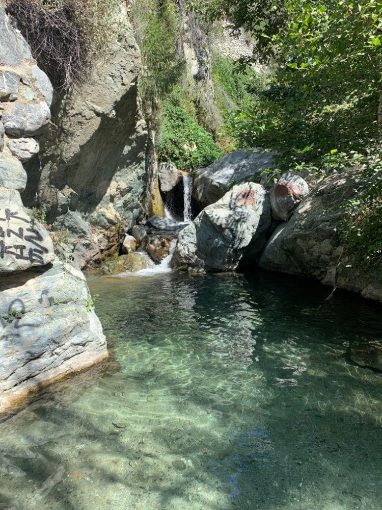 stoddard canyon swimming hole