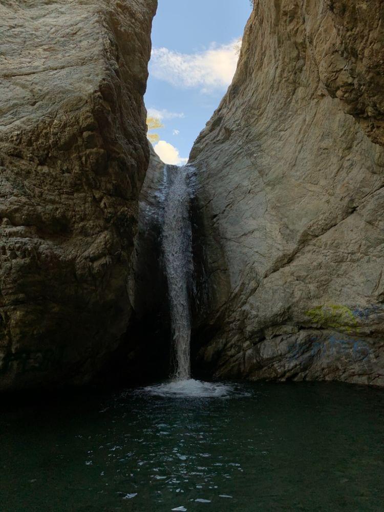stoddard canyon falls slide