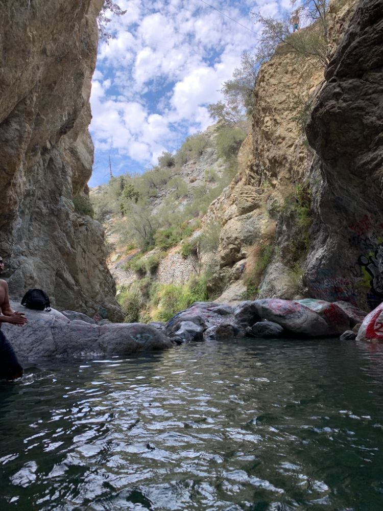 angeles national forest swimming hole