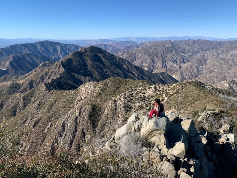 strawberry peak mountaineers route ridge