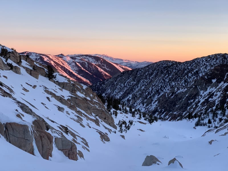 sunrise sierra nevada feb 2021