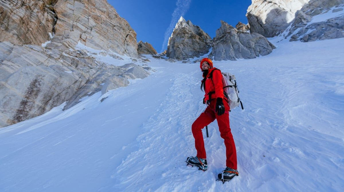 Matterhorn Peak: First Time Winter Mountaineering and Snow Camping